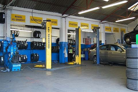 The Best Fit Glasgow Servicing and MOT station.